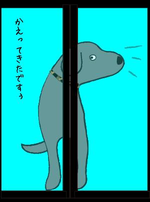 帰ってきた犬