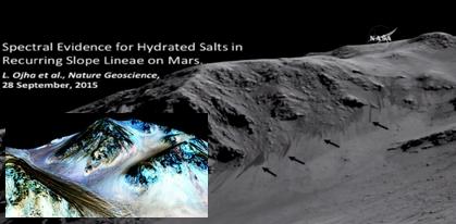 火星に水1