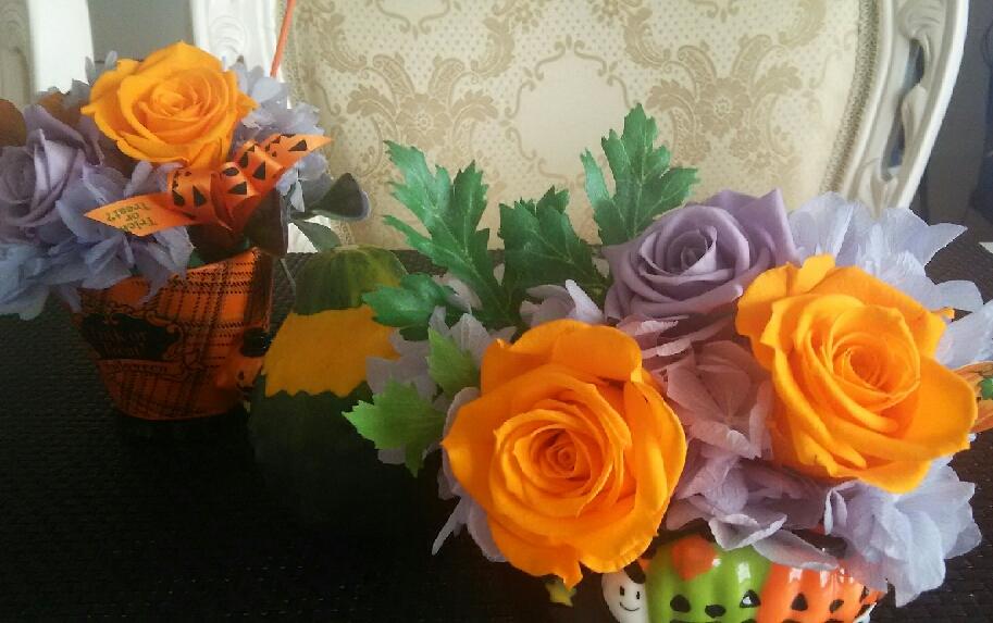 ハロウィンアレンジ