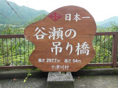 谷瀬の吊り橋1