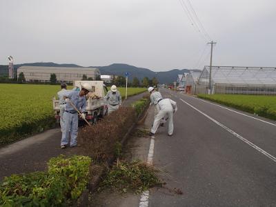 ボランティア活動(白石町建設業組合)
