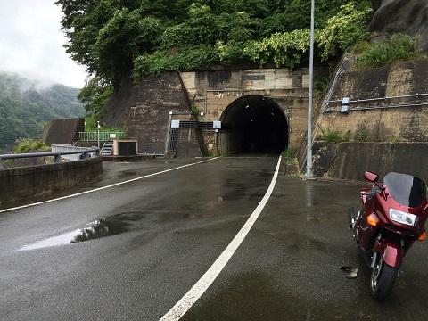 豊沢ダムトンネル