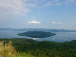 美幌峠から眺める屈斜路湖@美幌峠レストハウス