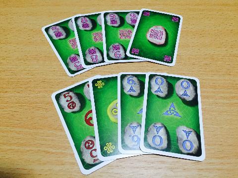 ケルトカード手札
