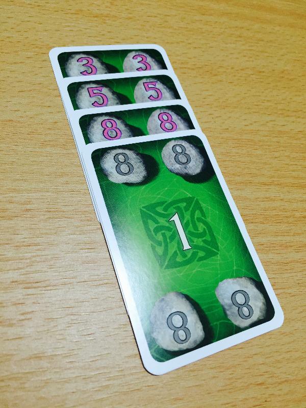 ケルトカード得点カード1