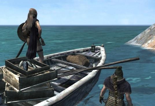 ハマで船に乗る