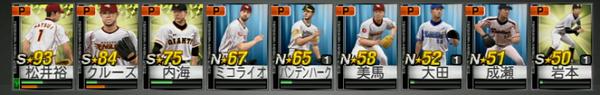 ☆93松井と☆84クルーズ プロ野球スピリッツ2015 グランプリ攻略&紹介