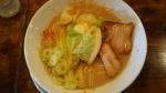 骨のzui 塩だれジンジャーらー麺 15.9.23