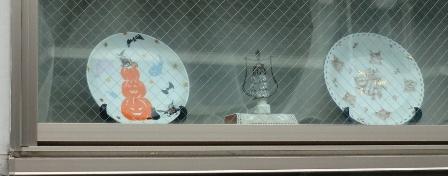 ハロウィンの皿2