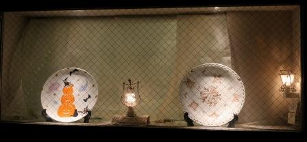 ハロウィンの皿3