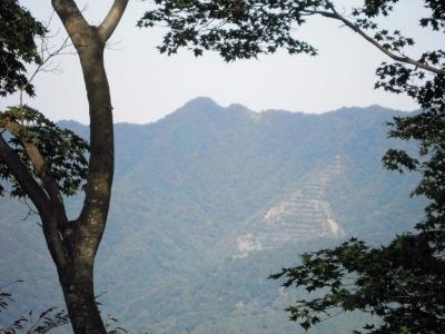 仏果山、高取山方面