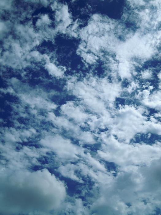 愛知県の秋の雲1。
