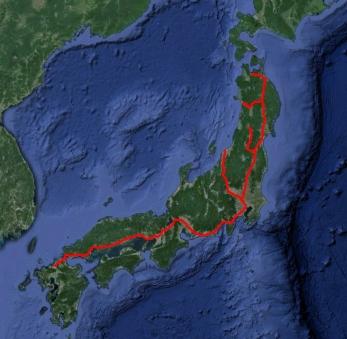 2010年時点の新幹線