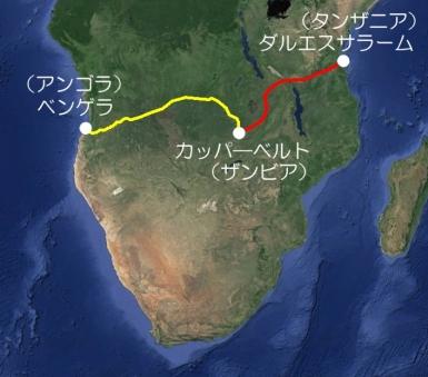 アフリカ横断鉄道