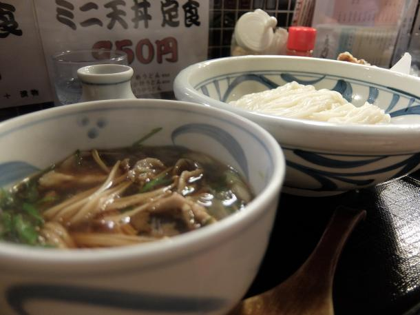 豚肉のつけ汁つけ麺