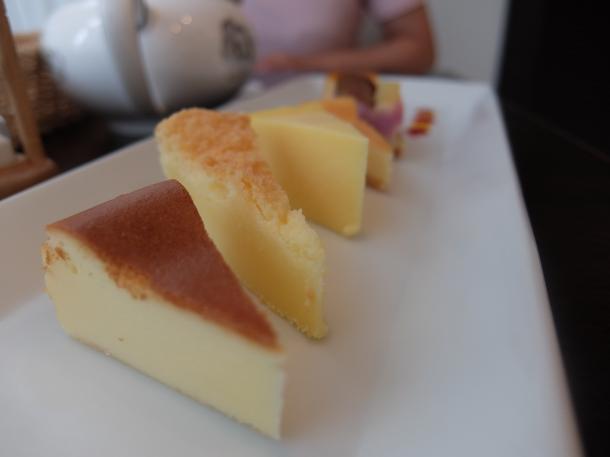 チーズケーキ5種盛り