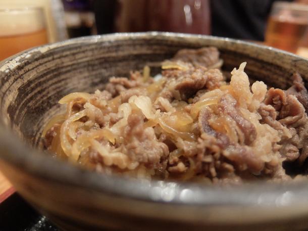 ミニ牛すきやき丼