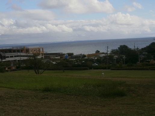 海の見える丘