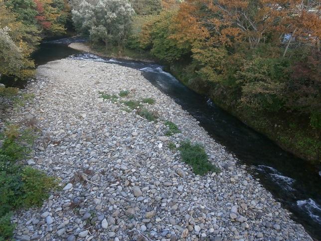 川と紅葉4