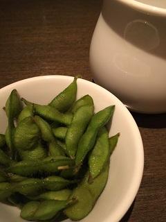酒茶房 如意 枝豆