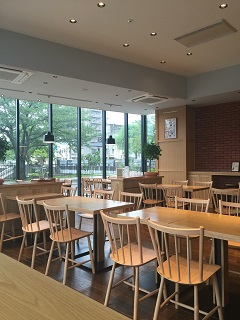 カフェスタジオ サンク 店内2
