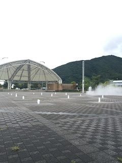 道の駅天童温泉 わくわくランド 噴水