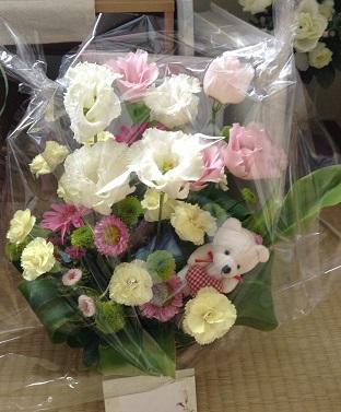 またお花をいただきました^^