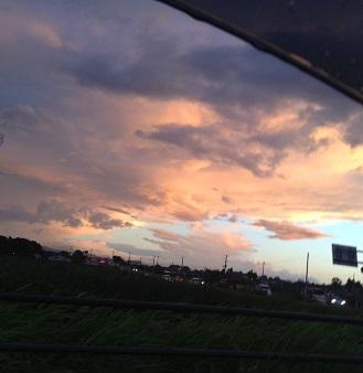 きれいな空~
