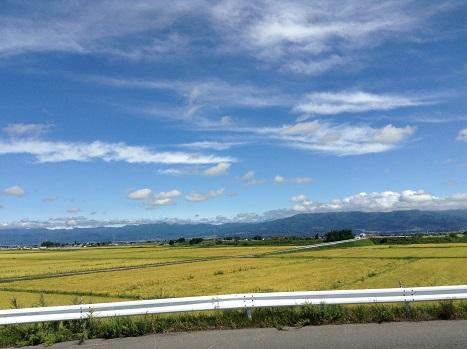 いいお天気^^ここは会津です