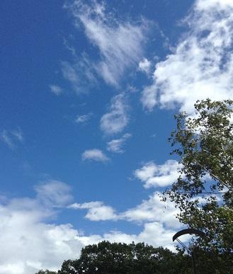 空がきれい^^