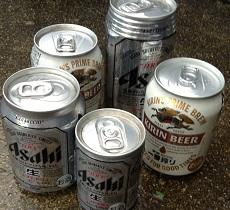 ビール、ありがとう。