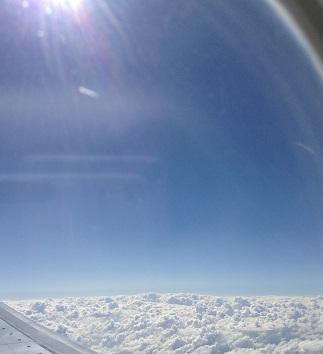 雲と空とひかり