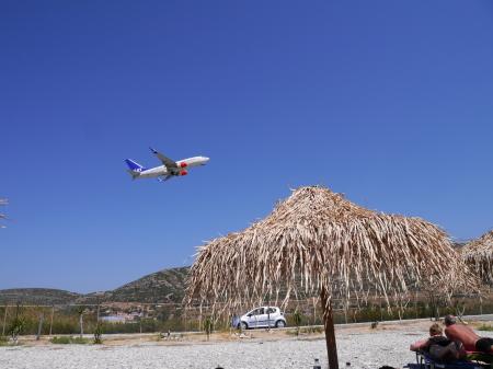 ポトカキビーチ 飛行機その2