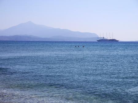 ポトカキビーチの海