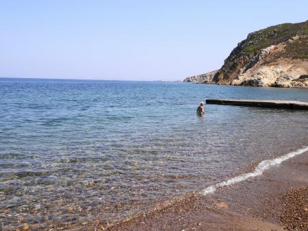 泳ぎやすいランピビーチ