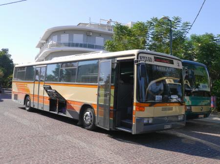 カルダメナ行きのバス