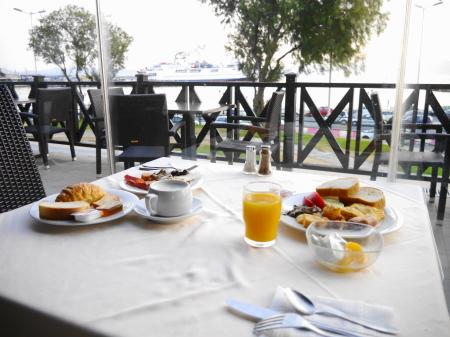 アブラホテル朝食