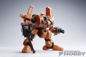 HG モビルワーカーMW-01 01式後期型(マッシュ機) テストショット01
