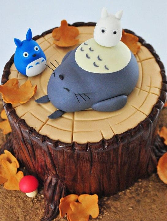 トトロケーキ05
