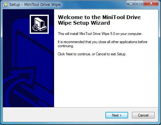 MiniTool Drive Wipe3-44-28-004