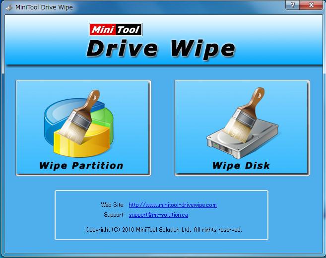 MiniTool Drive Wipe49-04-535