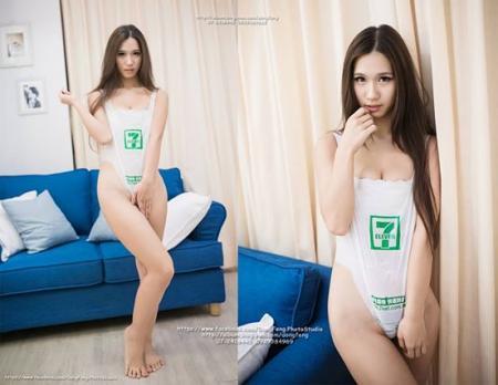 台湾 レジ袋 水着1