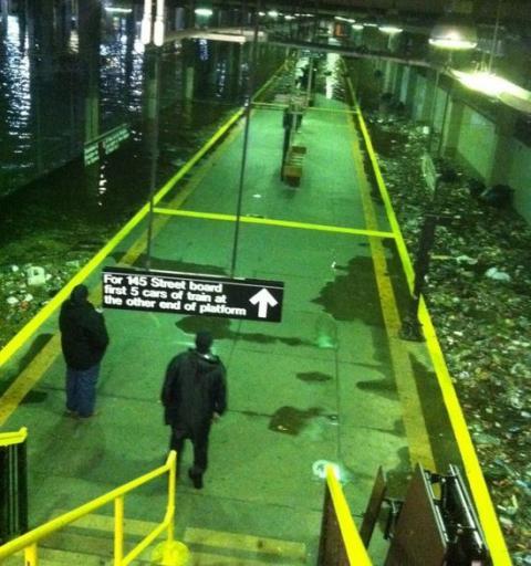 地下鉄 浸水 米国4