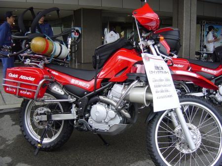 消防バイク1