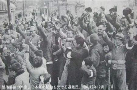 南京大虐殺 南京入城