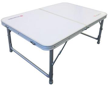 ハイ&ロースタイルに高さ調整が可能Hilander(ハイランダー) 2wayキャンプテーブル 90×60