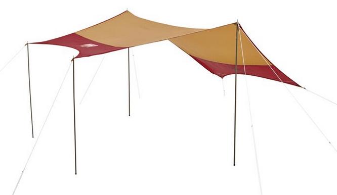 2015FW限定モデル「バーガンディ」Coleman(コールマン) タフワイドドーム