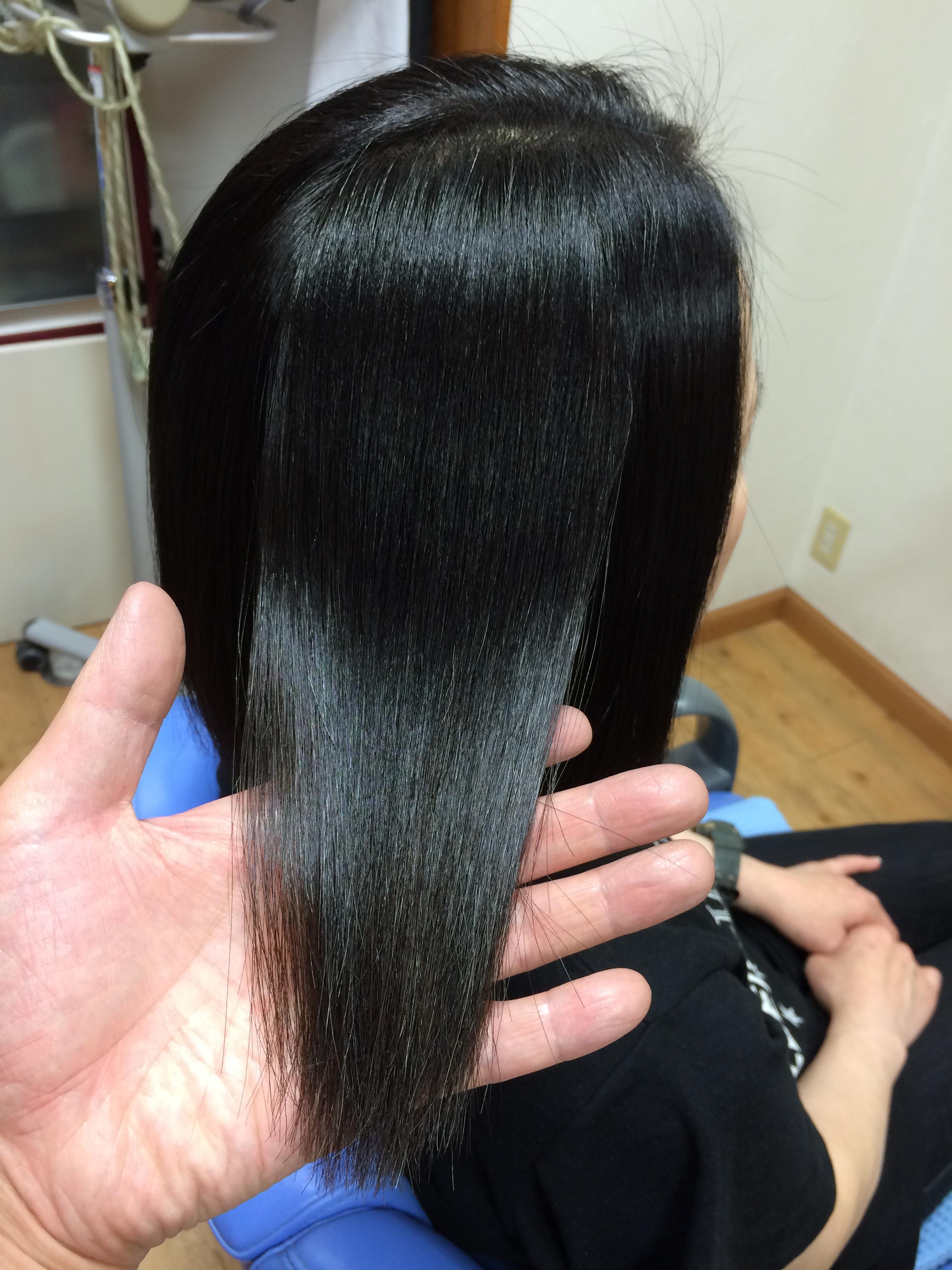 艶髪特集パート3 見た目ナチュラルな縮毛矯正