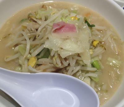 リンガーハット 野菜たっぷりスープ