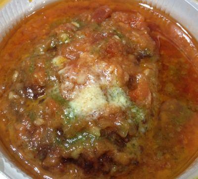 トマトバジルハンバーグ